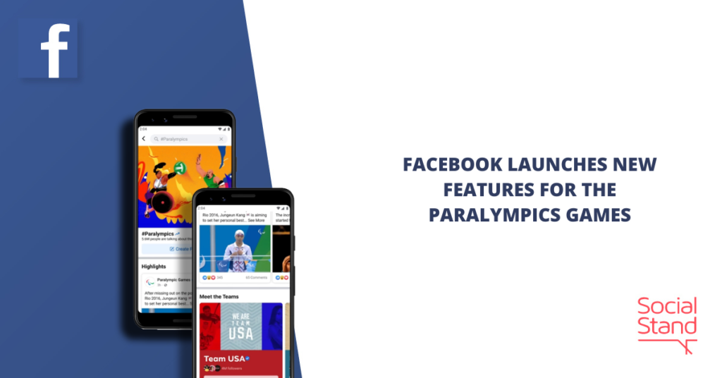 Facebook Launches New Features for the Paralympics Games
