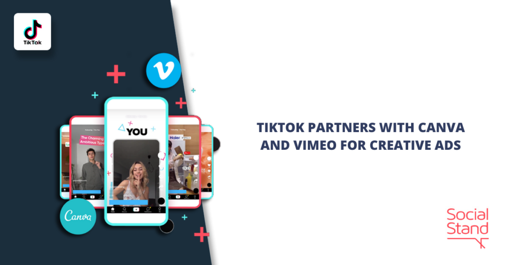Tiktok Partners with Canva and Vimeo for Creative Ads