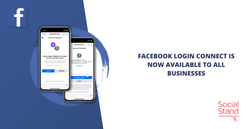 Facebook Login Connect Is Now Available to All Businesses