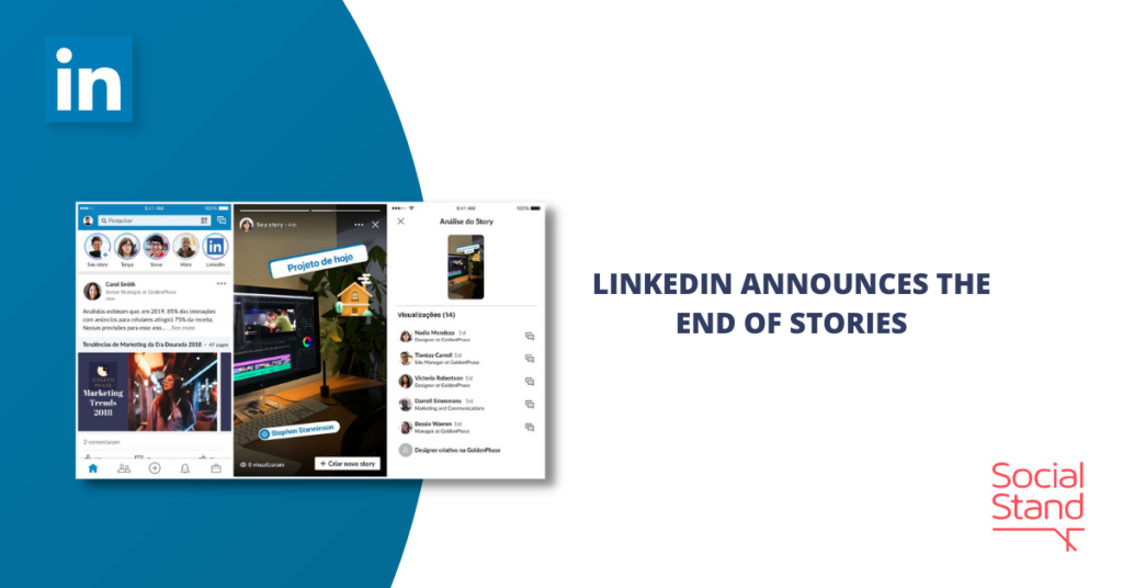 LinkedIn Announces the End of Stories