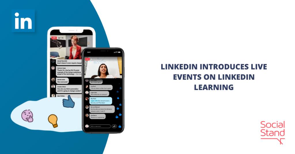 LinkedIn Introduces Live Events on LinkedIn Learning