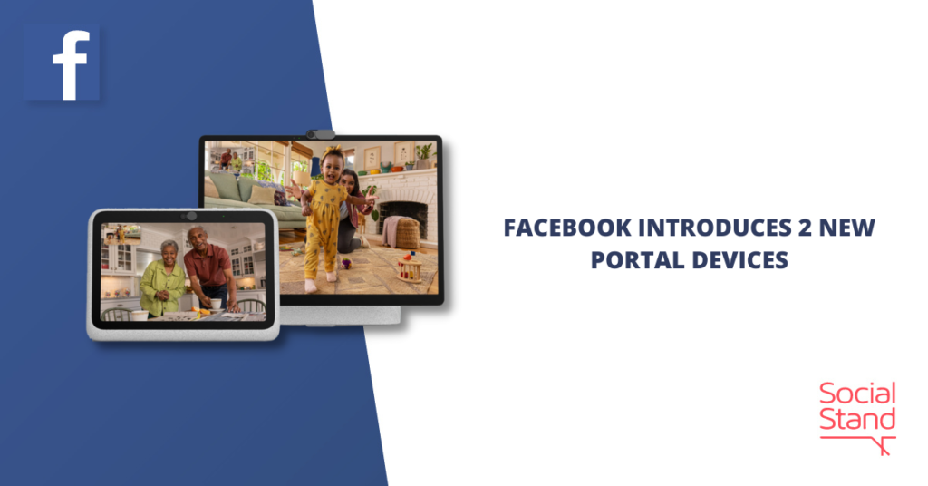 Facebook Introduces 2 New Portal Devices