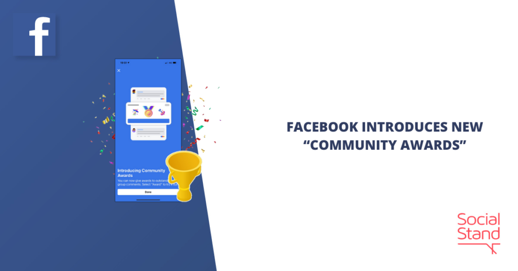 """Facebook Introduces New """"Community Awards"""""""