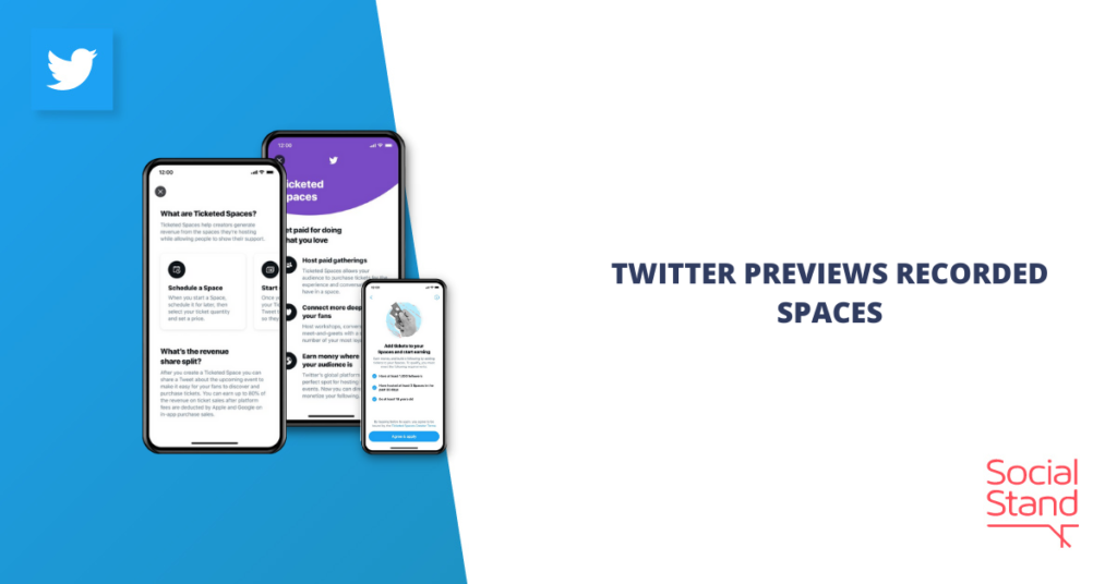 Twitter Previews Recorded Spaces