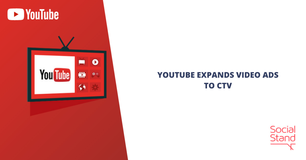 YouTube Expands Video Ads to CTV
