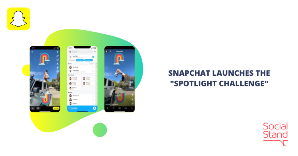 """Snapchat Launches the """"Spotlight Challenge"""""""