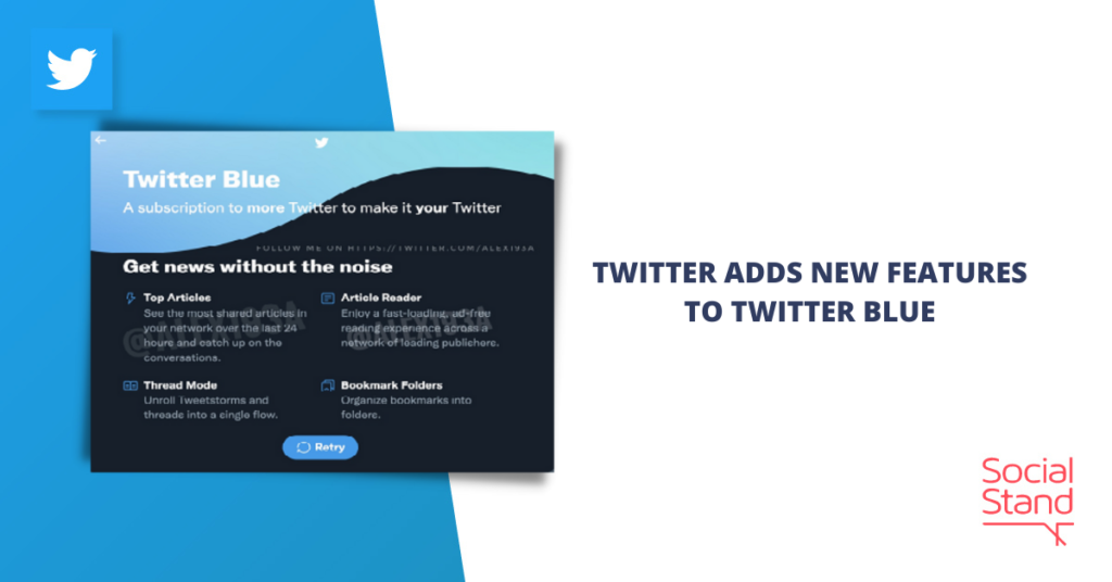 Twitter Adds New Features to Twitter Blue
