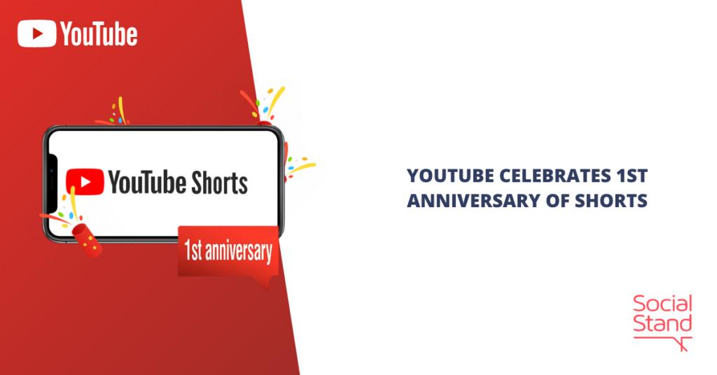 YouTube Celebrates 1st Anniversary of Shorts